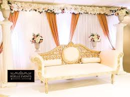 Event Decor London Wedding And Event Stage Decor Throne Chairssofa For Hire From