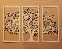 tree of life wall art wooden