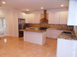 Limestone Flooring Kitchen Modern Kitchen With Flush Limestone Tile In Edgewater Nj