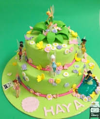 Tinkerbell Cake Girls Birthday Cakes Decorated Cakes