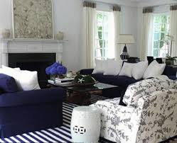 navy and white living room design blue and white living room decorating ideas navy blue