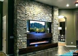 mounting on brick fireplace mount stone with natural wall hang tv install a