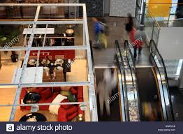 Inside the Swedish furniture store IKEA in Beijing Stock