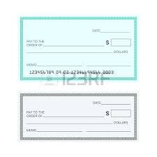 Blank Cheque Template Extraordinary Blank Check Template Blank Check Template Check Vector Template