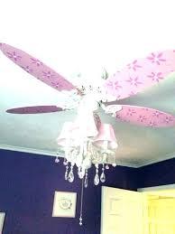 crystal chandelier fan combo ceiling light kit