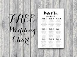 Free Arrow Wedding Seating Chart Template Diy Do In 2019
