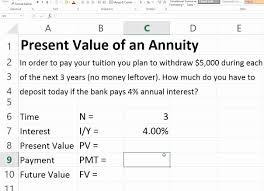 Time Value Chart Annuity Chart Excel Bedowntowndaytona Com