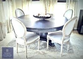 gorgeous inch round black w silver glazed dining kitchen table with claw feet by indigo interiors inch round kitchen table