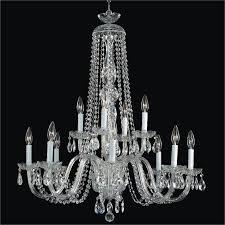 big crystal chandelier crystal by candlelight 542af12lsp 3