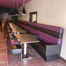 best banquette bench for your home furniture ideas nice and cool purple black vinyl upholstery