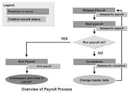 Hr Payroll Process Flow Chart Overview Of Payroll Process In Sap Sapspot