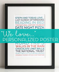 make a personalized poster for your boyfriend