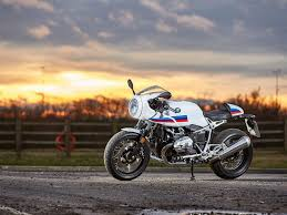 uk exclusive bmw r ninet racer first ride mcn