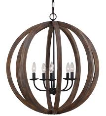 feiss f2936 5wow af allier weathered oak wood antique forged iron