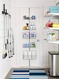 Don't Forget About Your Doors. Clever Laundry Room Storage Solutions