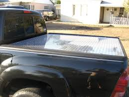 Home Made Diamond Plate Tonneau Cover | Stuff | Truck bed covers ...
