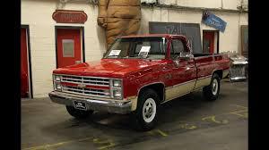 Chevrolet pickup truck C20 1985 - YouTube