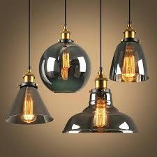 glass lighting pendant modern led pendant lights glass lamp vintage loft pendant lamp glass lampshade hang