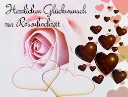 Rosenhochzeit Glückwünsche