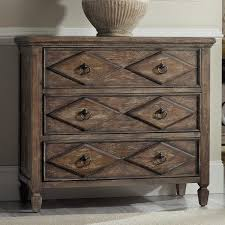 rhapsody diamond pecan veneer chest