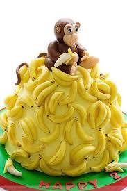 Monkey And Ten Dozen Bananas Cake Recipe Cakes Cake Curious