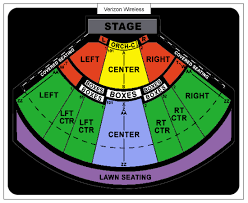 Soaring Eagle Outdoor Venue Seating Chart Riverport Amphitheater St Louis Seating Chart