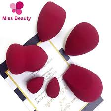 china miss sponge best selling makeup sponges with luxury red wine color extremely soft beauty sponge blender super soft cosmetic puff sponge china