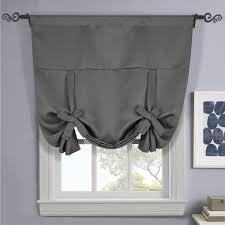 Curtain rods for small windows Bay Ava Blackout Weave Curtains Rod Pocket Tie Up Shade For Small Window Wholesalebeddingscom Scottssales Ava Blackout Weave Curtains Rod Pocket Tie Up Shade For Small Window