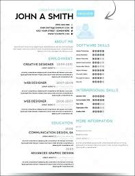 Nice Resume Templates Unique Nice Design Resume Templates Amazing Elegant Format Free Career