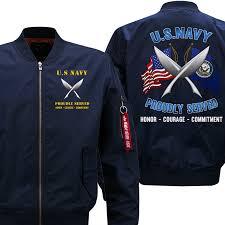 U S Navy Yeoman Navy Yn Flight Bomber Jacket Products In