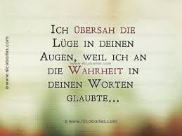 Ich übersah Die Lügen In Deinen Augen German Sayings