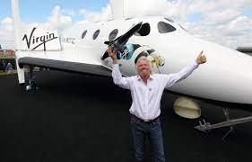 Virgin Galactic founder Richard Branson ...