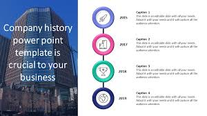Powerpoint History Company History Powerpoint Template