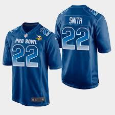 2019 - Bowl Smith Blue Nfc Pro Game Vikings Jersey Harrison