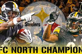 Behind Over Bengals 27-17 Steelers The Curtain Afc - Steel Cincinnati With Take Title North Win
