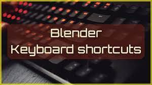 Blender Keyboard shortcuts PDF - Blender