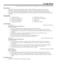 Maintenance Technician Resume Sample Resume For Maintenance ...