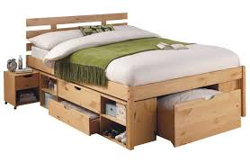 Living Ultimate Storage Double Bed Frame. I don't care for the headboard,
