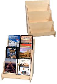 Small Book Display Stand 100 Tier Plywood Display 100 Card rack displays Pinterest 2