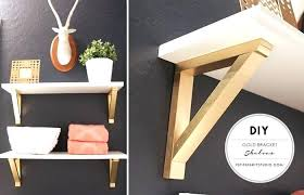 shelf brackets decorative wood shelves with gold 1 industrial farmhouse metal shelving ideas diy and unit ad cool metal projects for your home diy shelves
