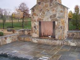 ... natural-stone-outdoor-fireplace-5 ...