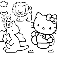 Hello kitty goes swimming coloring page from hello kitty category. 40 Hello Kitty Pictures Which Are Pretty Slodive