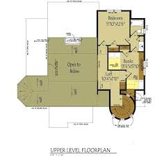 small cottage floor plan with loft fairy tale modern house plans under 1000 sq ft in