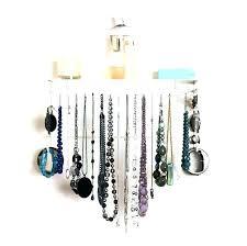 necklace holder wall mount necklace holder wall mount jewelry organizer wall image of jewelry organizer wall necklace holder wall