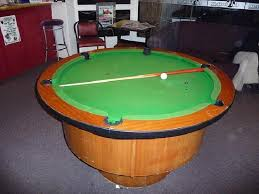Round Pool Tables - Home Design