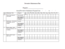 Maintenance Work Order Form Classy Preventive Maintenance Policy And Procedures Manual 48