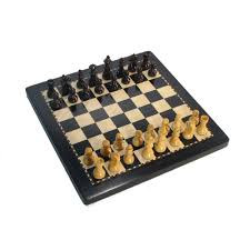 small best magnetic chess set with case black