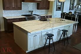kitchen island and perimeter countertop