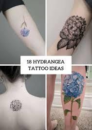 18 Hydrangea Tattoo Ideas For Romantic Ladies Styleoholic