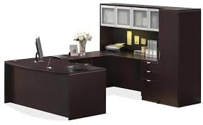 shaped office desk. Stunning U Shaped Office Desk With Hutch Best Table Shape Design L